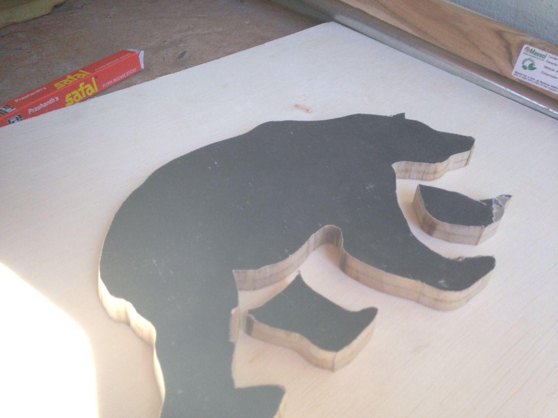 Urso MDF   Bear