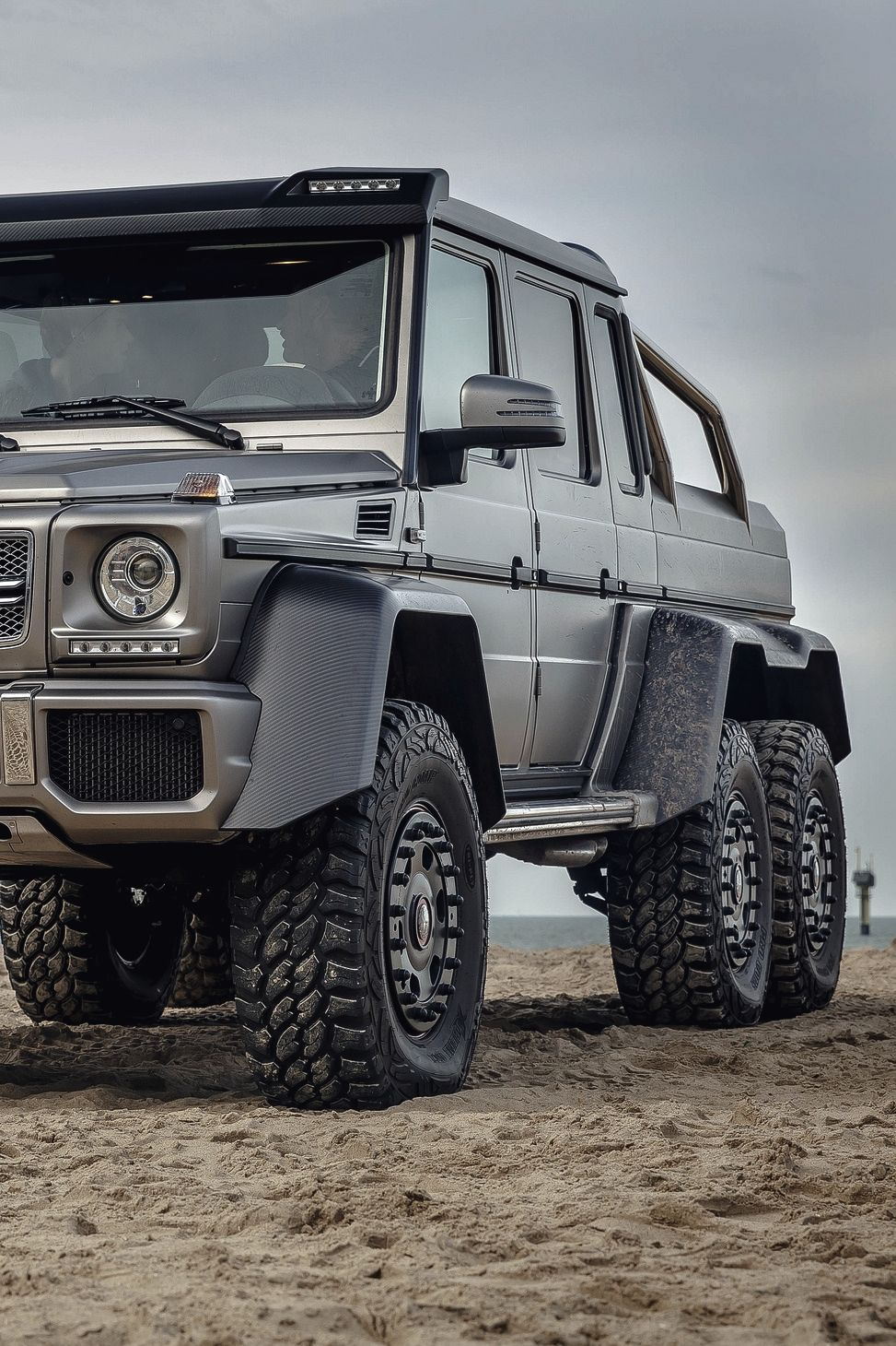 Vistale mercedes g63 6x6 via g klass pinterest for Mercedes benz 4x4 g class