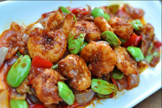 Resep Sambal Goreng Udang Pete Petai Udang Dengan Balutan Sambal Goreng Terasi Yang Kental Dan Pedas Sem Makanan Sehat Resep Masakan Indonesia Resep Masakan