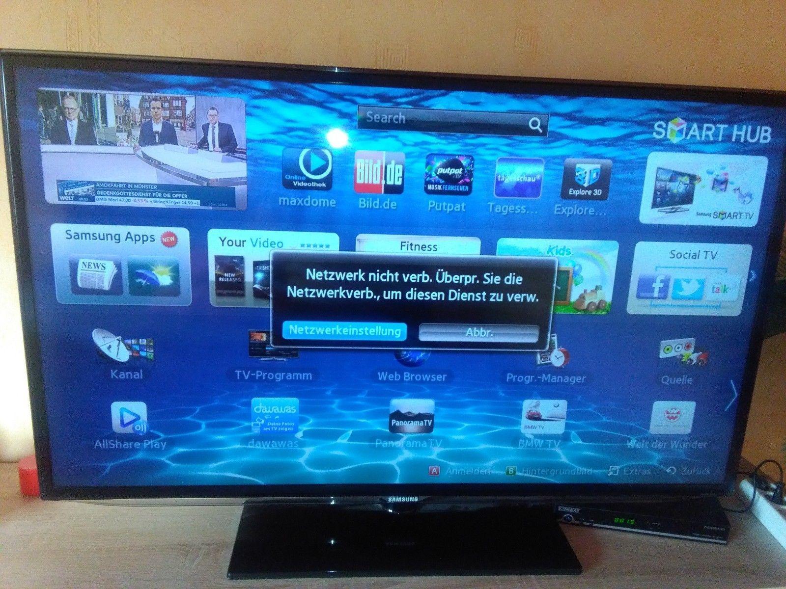 Ebay Led Tv Samsung Led Tv Ue46es6200 Full Hd Mit 3d Funktion Und