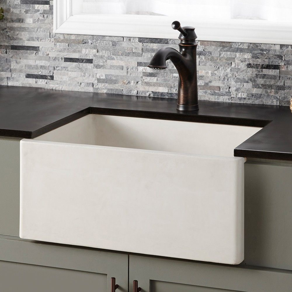 The Farmhouse 2418 Kitchen Sink S Rich Texture And Commanding Presence Will Heighten The Appeal Of Any Mod Apron Front Kitchen Sink Farmhouse Sink Kitchen Sink