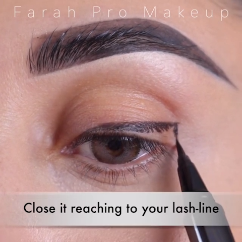 Photo of STEP BY STEP EASY EYELINER TECHNIQUE TUTORIAL