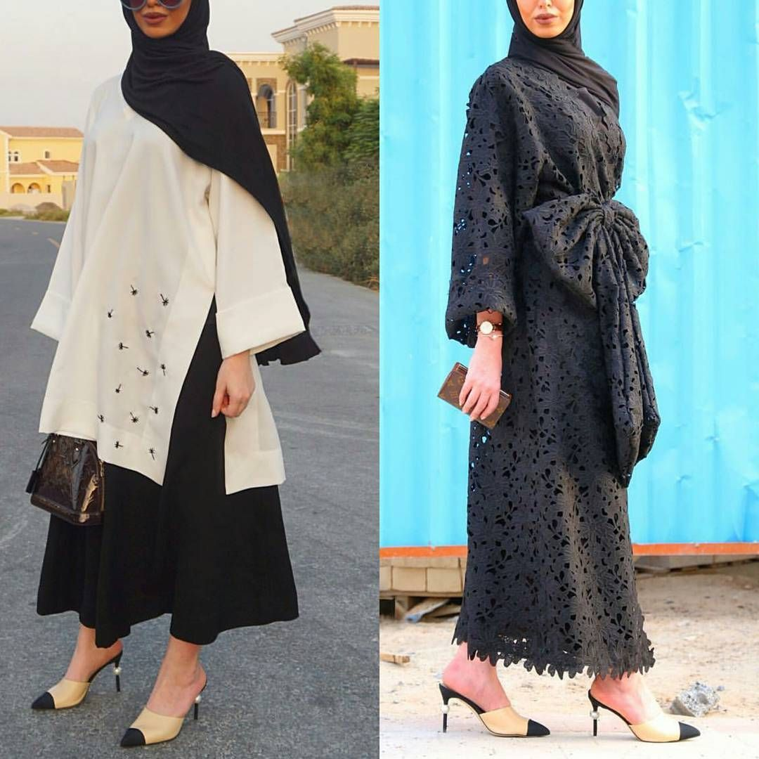 666 Likes 21 Comments Abaya Show Abaya Show On Instagram يمين ولا يسار Fashion Abayas Fashion Hijab Fashion