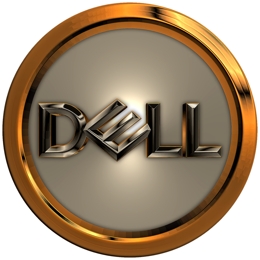 DELL 3D Logo 01 by KingTracy on DeviantArt in 2020 (With