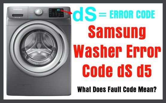 Samsung Front Load Washer Problem Codes