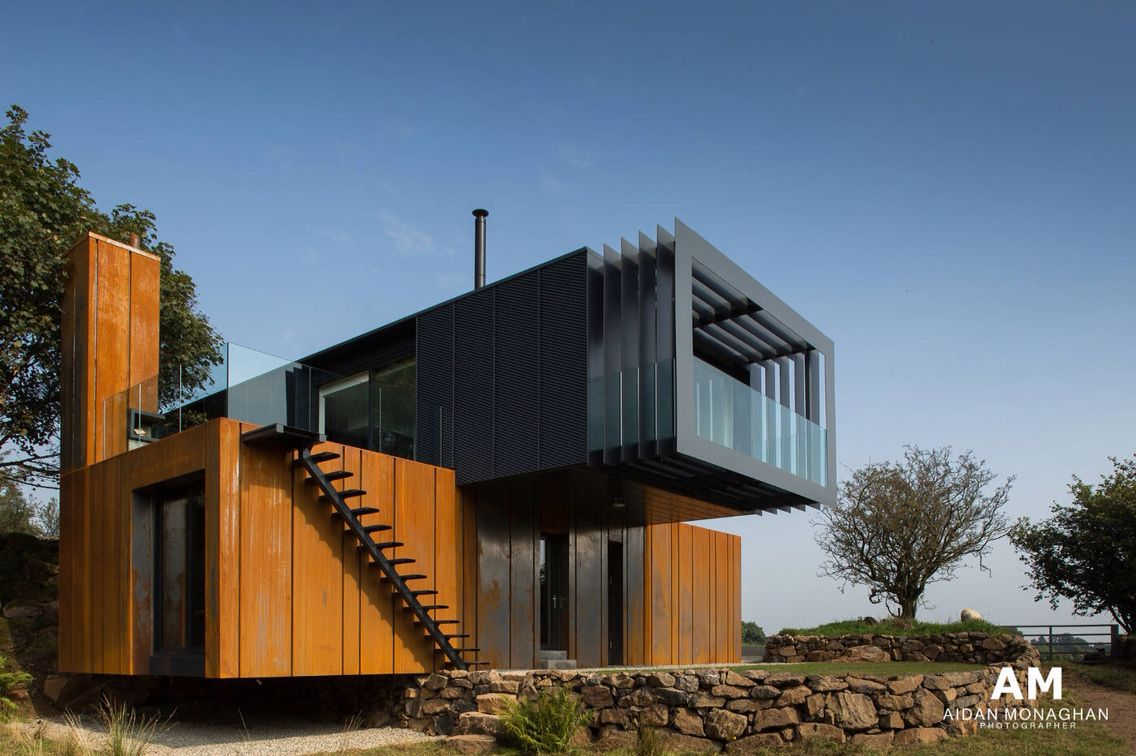 Container Haus Irland Clever Idea Well Resolved Architecture And Art Container