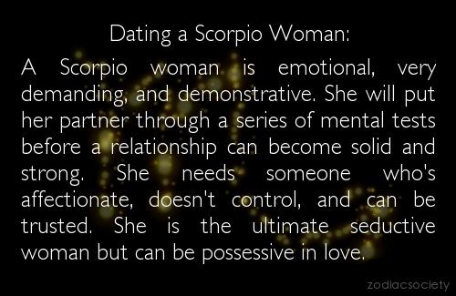 Whats It Like Dating A Scorpio Woman