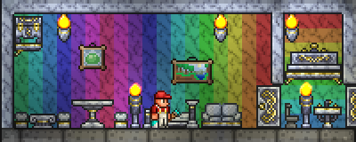 Painter S Apartment Terraria Terrarium Terraria House Design Terraria House Ideas