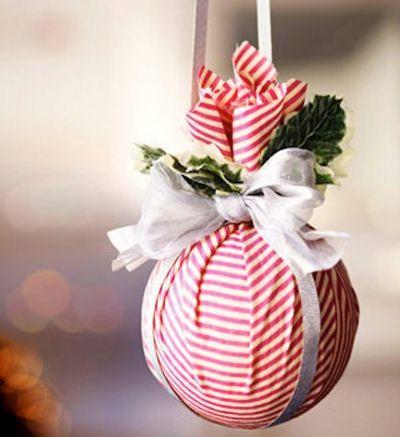 Изготовление новогодних шаров своими руками