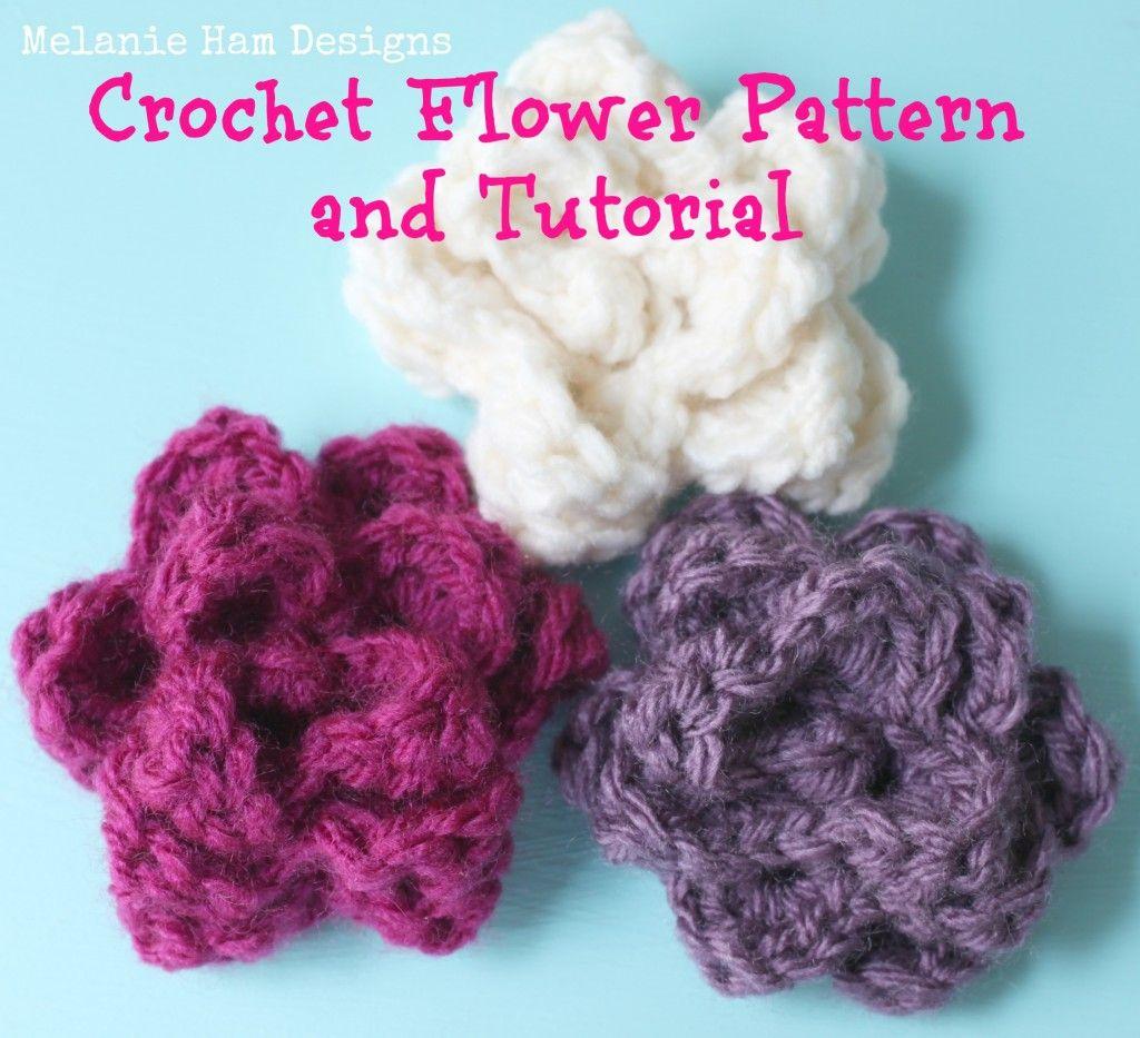 Free Crochet Rose Pattern -   Crochet flowers, Crochet and Free crochet