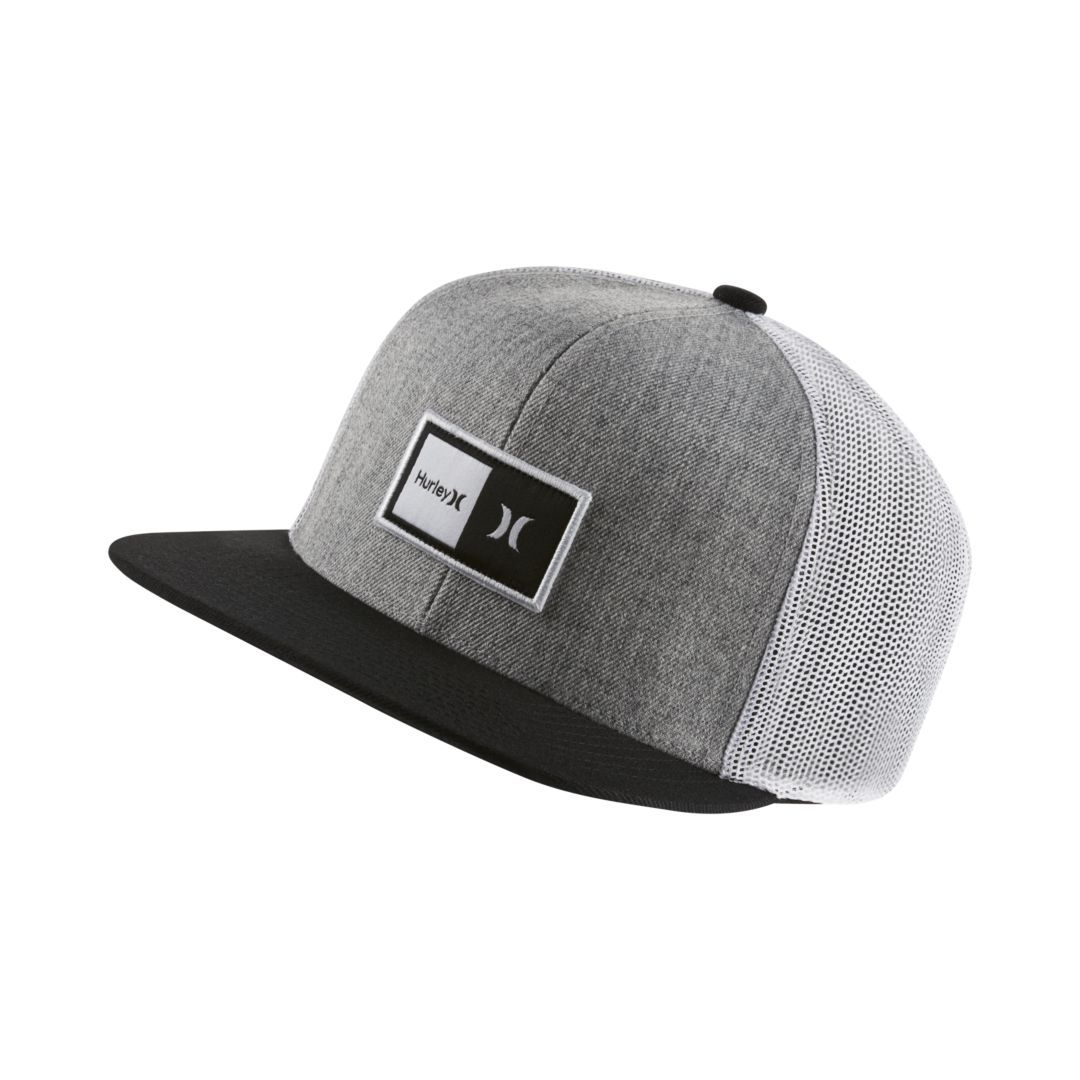 huge discount c6286 54f0a ... usa hurley natural mens hat size one size cool grey f3cb6 d7eb9