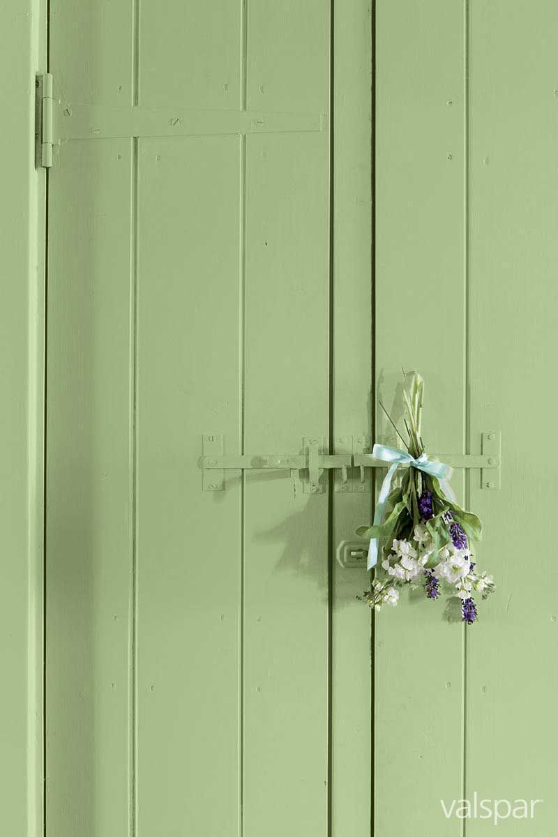The Perfect Green For A Country Kitchen This Is Valspar