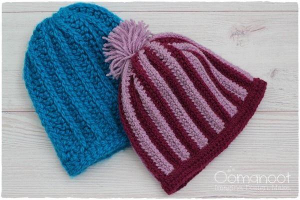 Camel Hat Stripy Hat ~ free pattern ᛡ | Crochet & more, etc ...