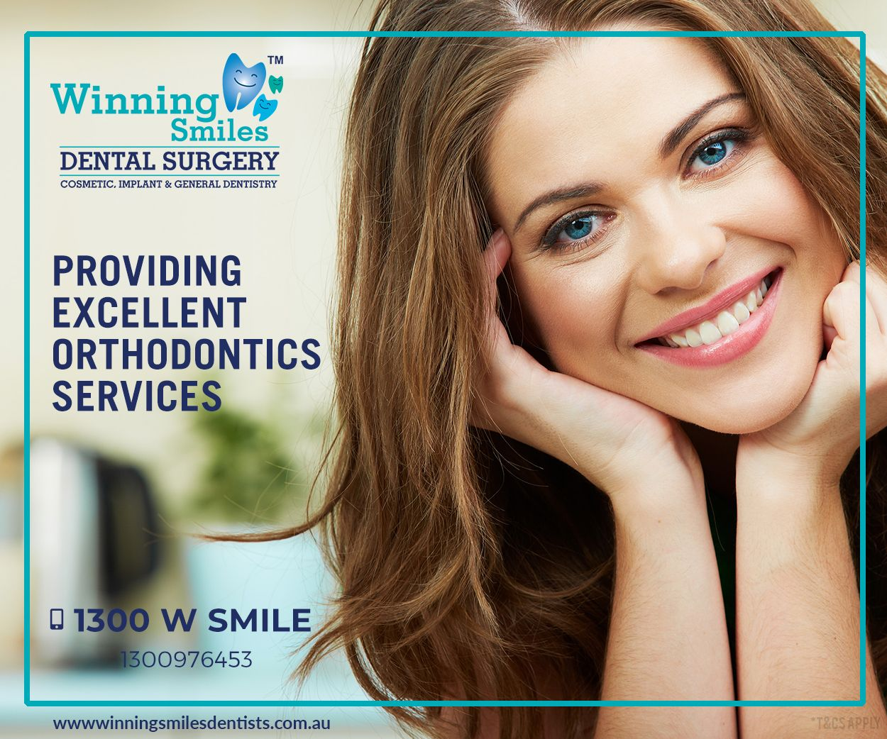 We are happy to provide excellent orthodontics services