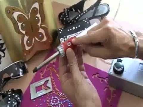 آلة تثبيت الكريستال اليدوية من النسيج العربي Mens Bracelet Crafts Youtube