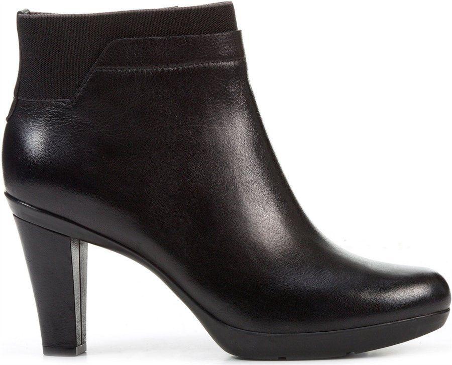 excepcional gama de estilos sin impuesto de venta precio justo Geox D INSPIRATION STIV in BLACK - Geox Womens shoes. | Boots ...