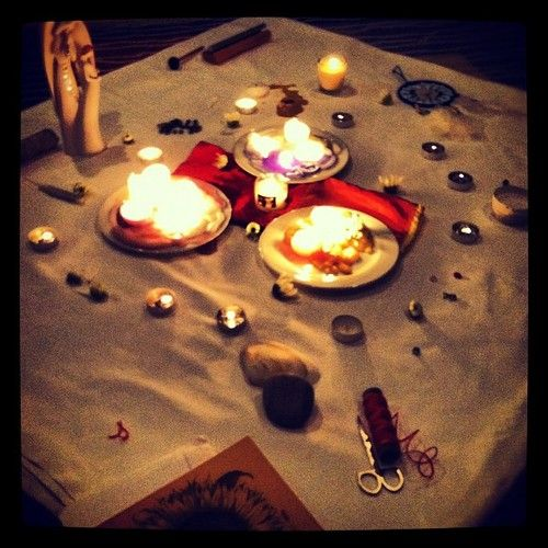 Energyawakening Blessing Way Ceremony Altar During My Tribe S