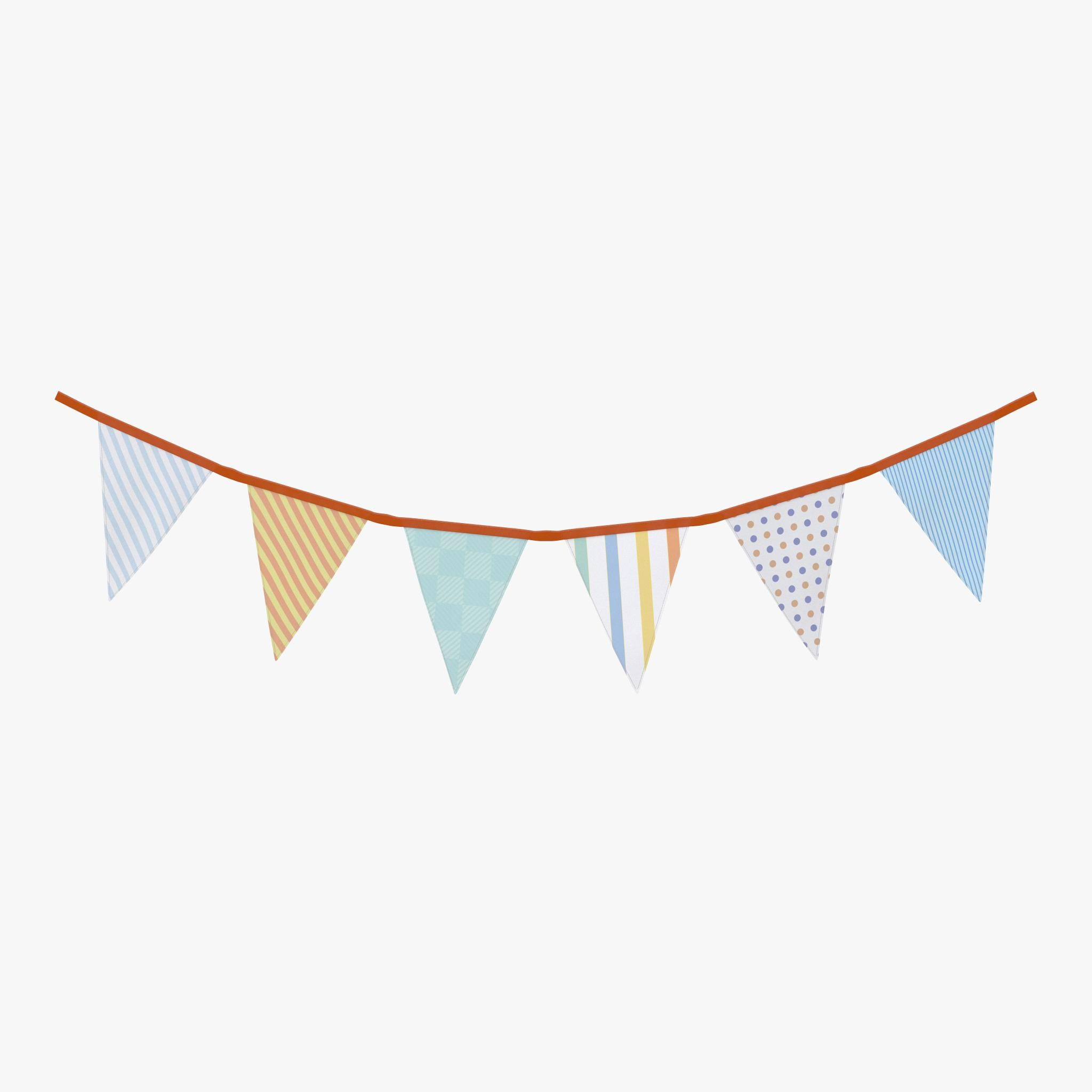 10 5 Feet Double Sided Black And White Cotton Fabric Triangle Pennant Flag Bunting Banner 12 Flags For Nursery Ki Fabric Bunting Tent Decorations Fabric Banner