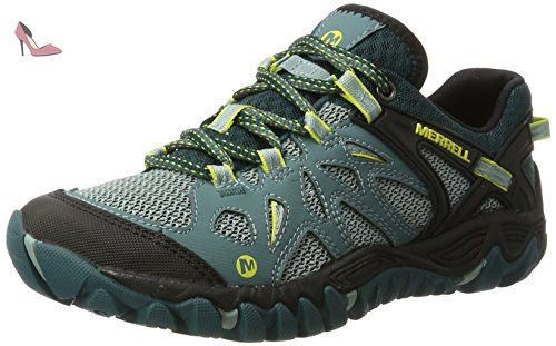 Merrell All Out Blaze Aero Sport, Chaussures de Randonnée Basses Femme,  Multicolore (Sea