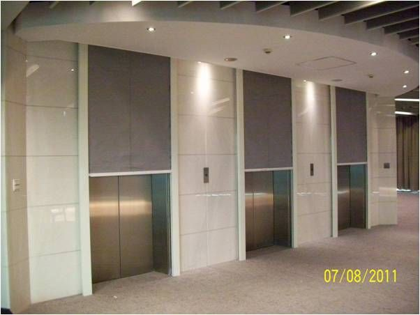 Door Systems Elevator Smoke Containment System