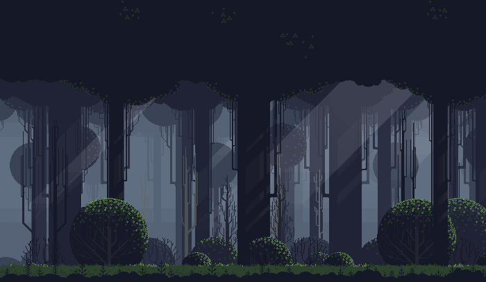 A Free Pixel Art Forest For You Pixel Art Landscape Pixel Art Background Pixel Art Games