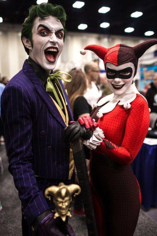 Disfraces de halloween en pareja marvel and others en - Disfraz joker casero ...
