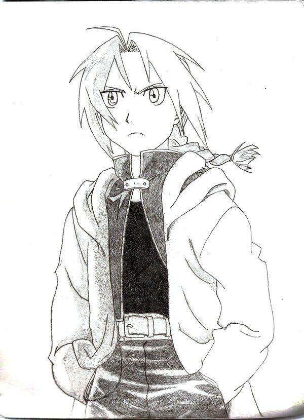 Edward by Demonic-Chaos on DeviantArt | LineArt: Fullmetal Alchemist ...