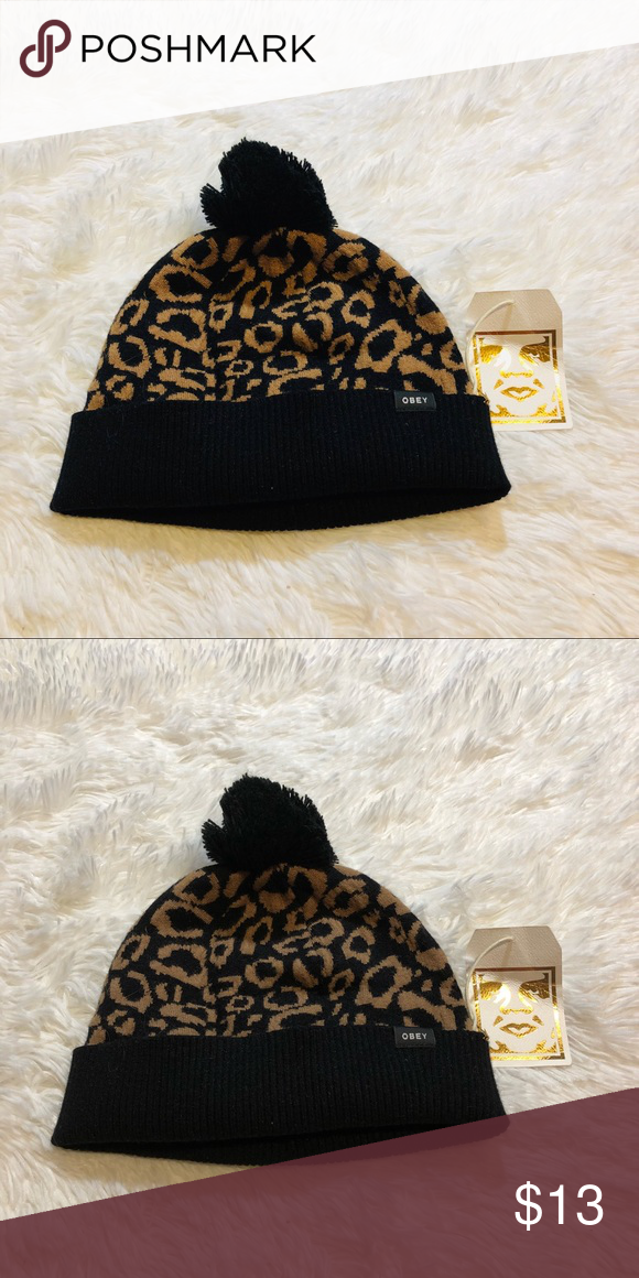 f85ebbff0a3 New obey hat beanie New with tags. Price is firm Obey Accessories Hats