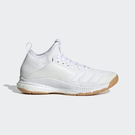 Crazyflight X 3 Mid Shoes White Womens in 2019 | Black