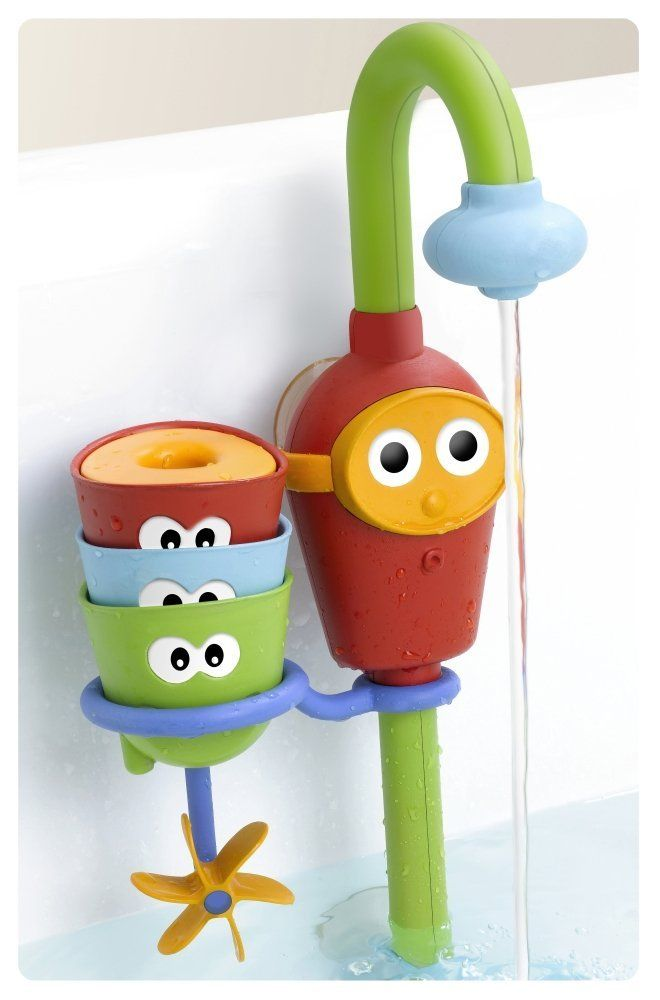 fun bath toy for kids - creates a fountain without having to leave ...