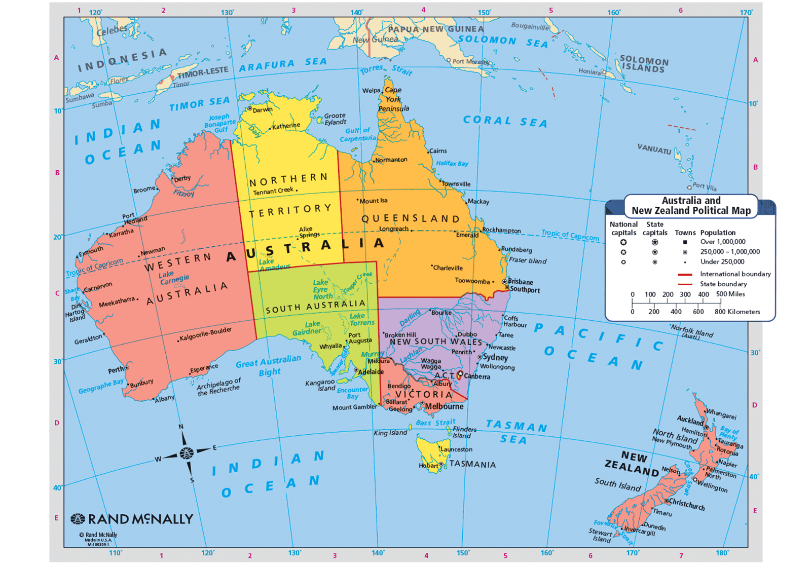 Map Of New Zealand And Australia World Map Science Pinterest