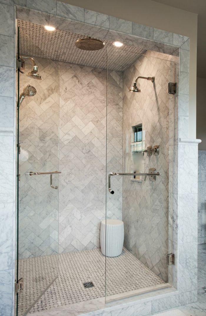 1001 ideas de duchas de obra para decorar el ba o con - Platos de ducha diseno ...