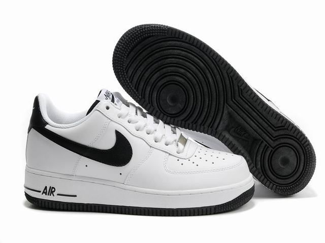 nike chaussure basse,nike air force 1 low blanche et noir homme ...