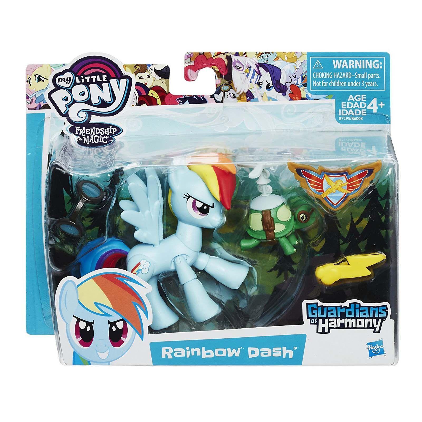 My Little Pony Guardians Of Harmony Rainbow Dash Figure Rainbow