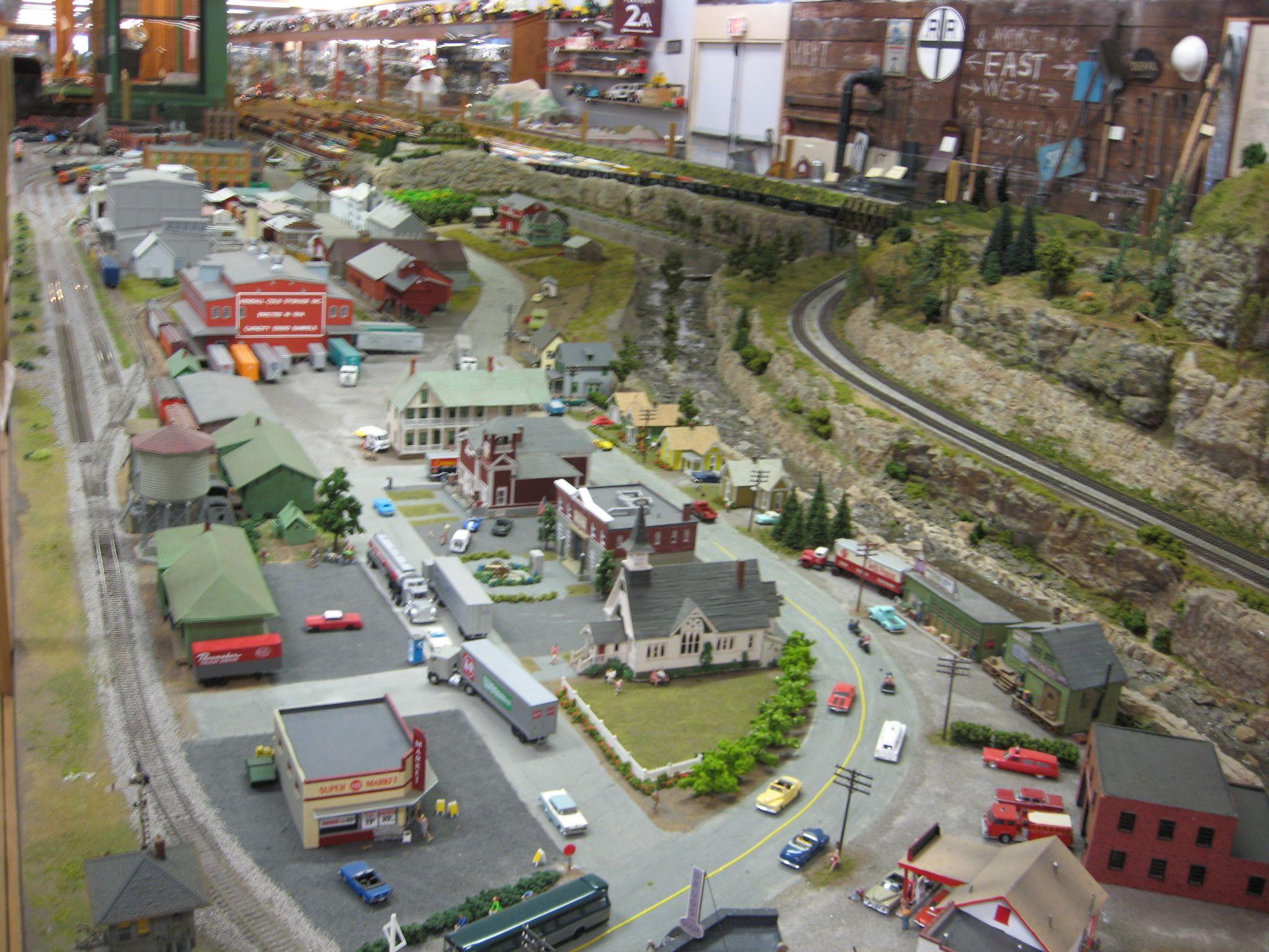 medina railroad museum ho scale model train layout 23 model