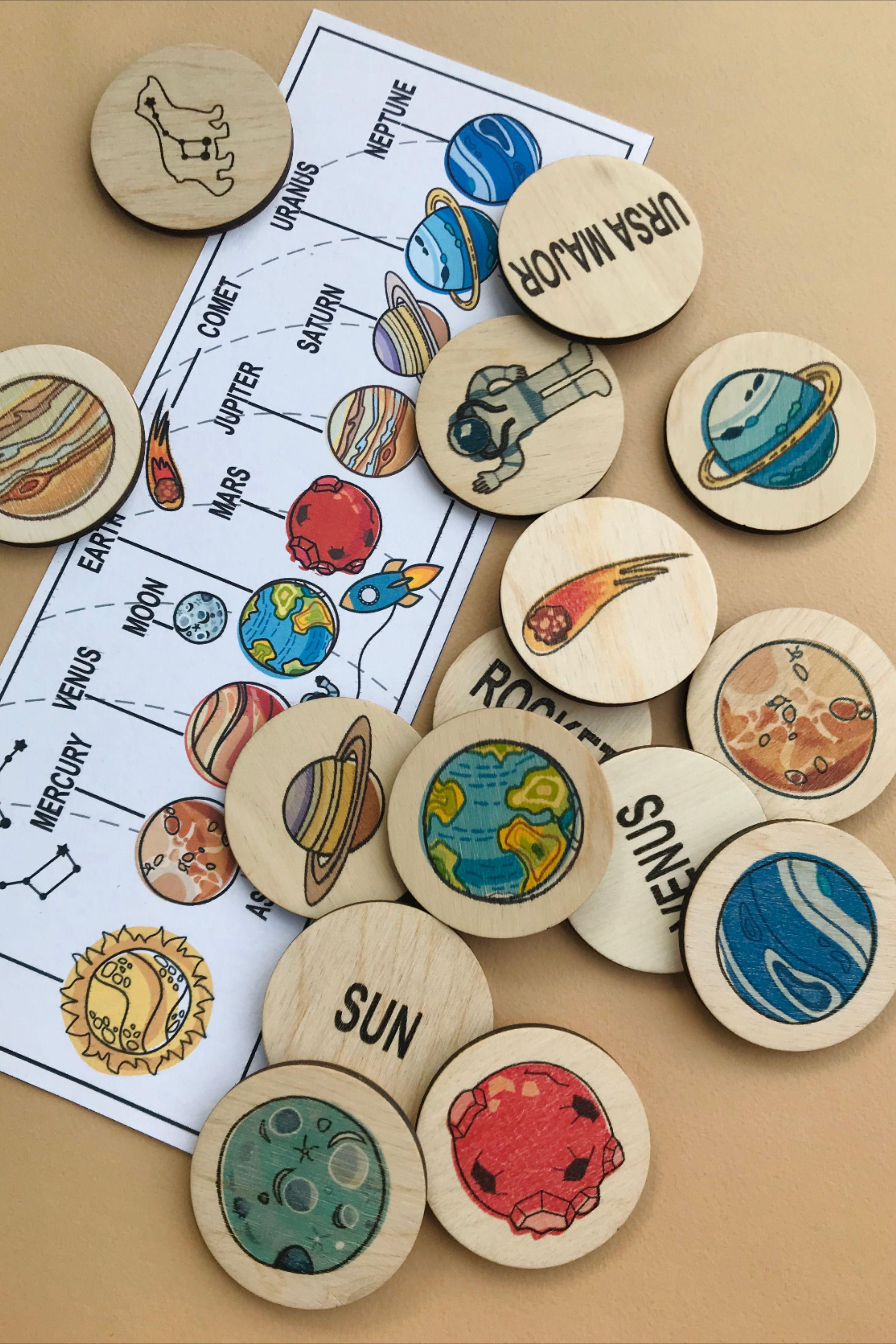 Montessori Materials Solar System Toddler Activities