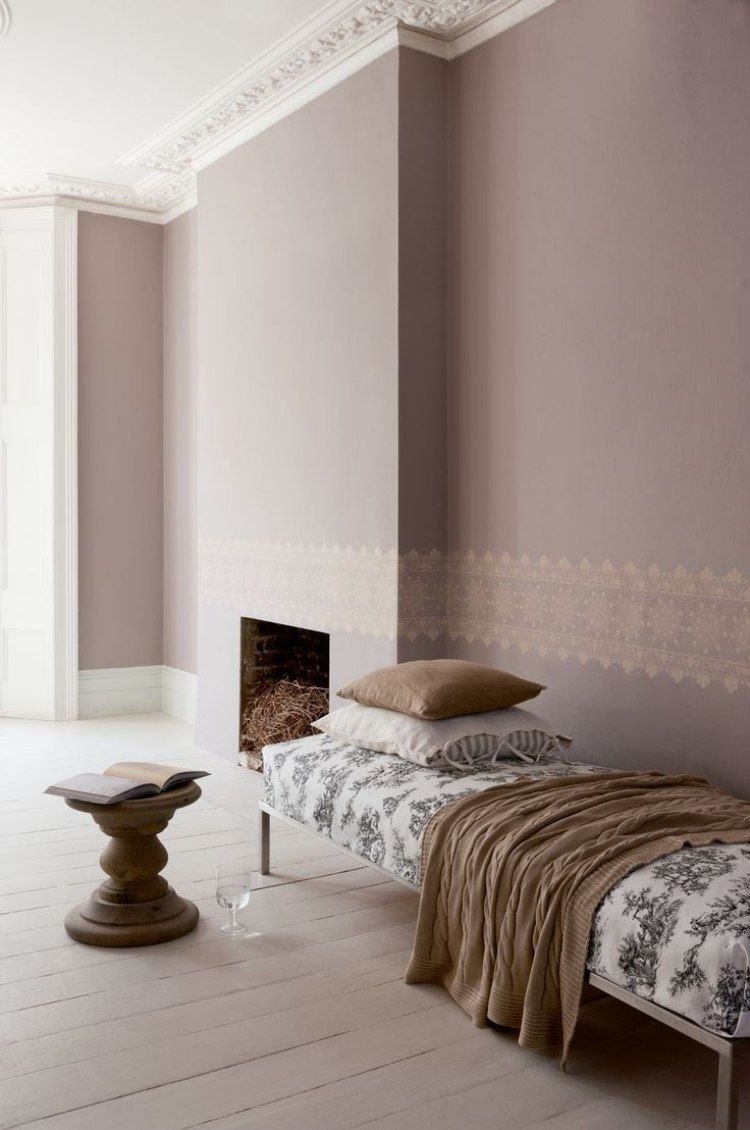 Taupe Wandfarbe  Edle Kulisse fr Mbel und Accessoires  Varieties  Wandfarbe wohnzimmer