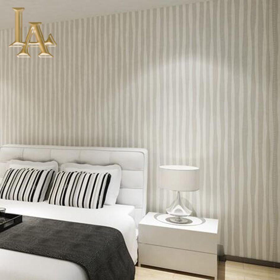 Best Modern Pink Beige Striped Wallpaper For Walls 3D Wall 640 x 480