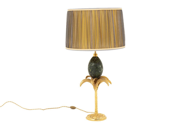 Maison Charles Palm Tree Lamp With A Marble Egg 1970 S En 2020 Produit