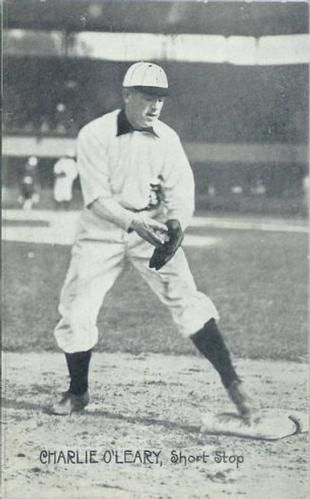 1909 Wolverine News Postcards Detroit Tigers PC773-3 #14 Charlie O'Leary Short Stop Front