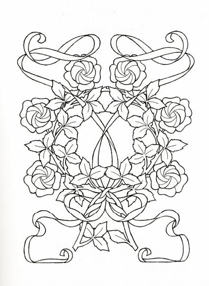 Art Nouveau Ornament