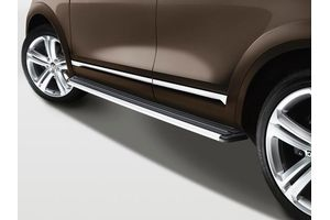 Side Steps Anodized Silver Volkswagen Classic Cars Best Classic Cars