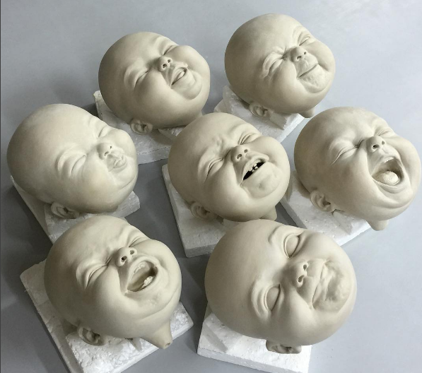 Картинки по запросу Необычные фарфоровые скульптуры от гонконгского художника Джонсона Цанга (Johnson Tsang)