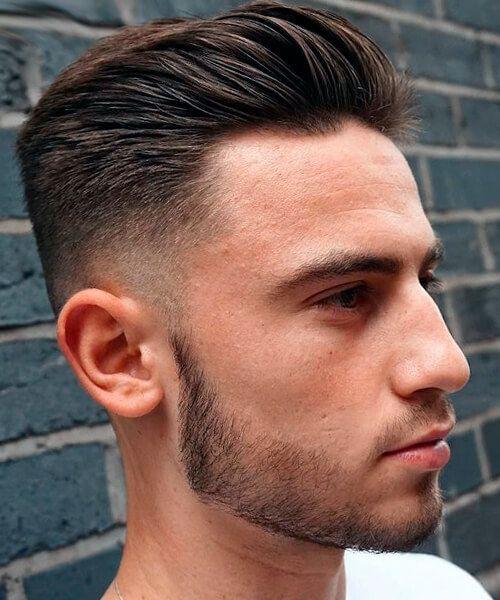 Peinado atras hombre