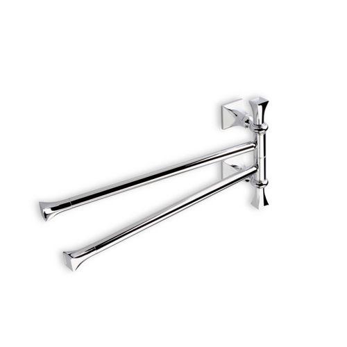 Swivel Towel Bar Stilhaus Prisma 17 Inch Clic Style Double Pr16