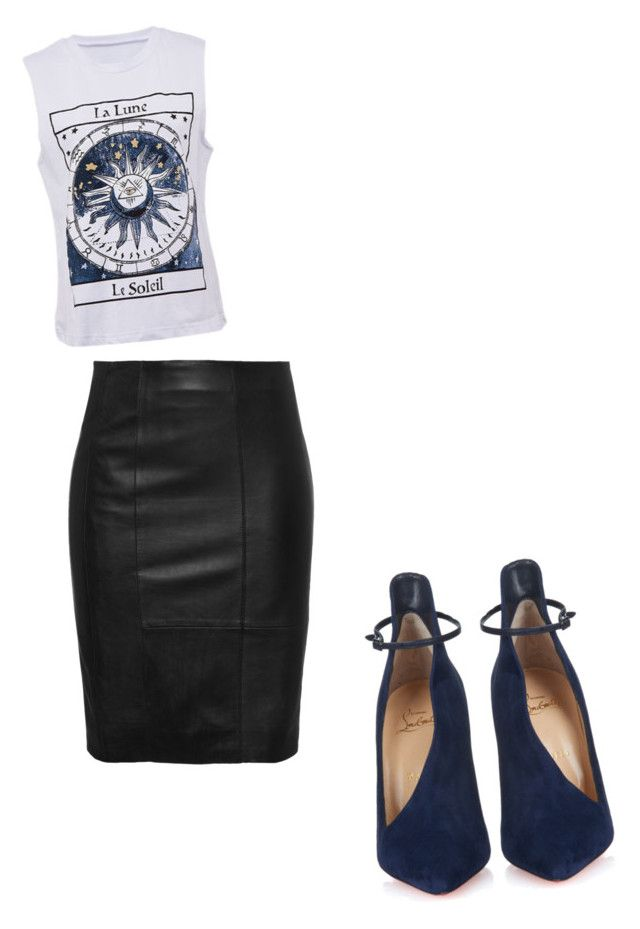 """""""Untitled #70"""" by shadesoffashion on Polyvore featuring Christian Louboutin"""