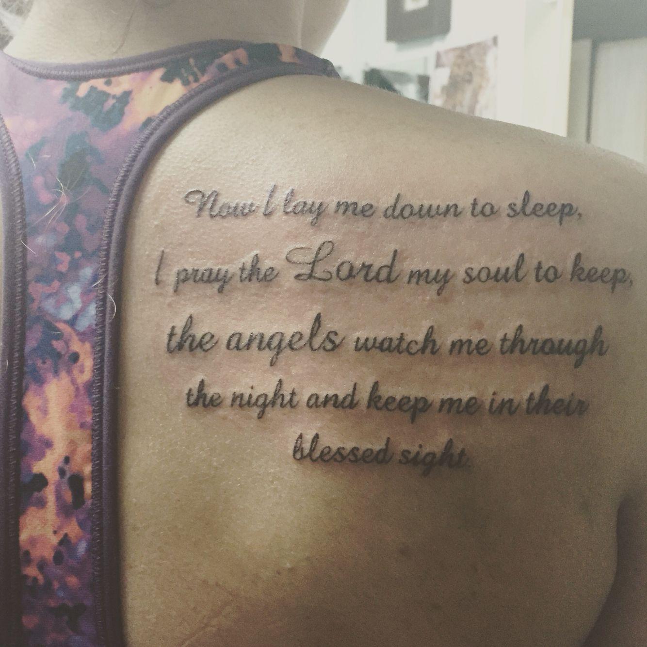 Now i lay me down to sleep wall decal -  Now I Lay Me Down To Sleep I Pray The Lord My