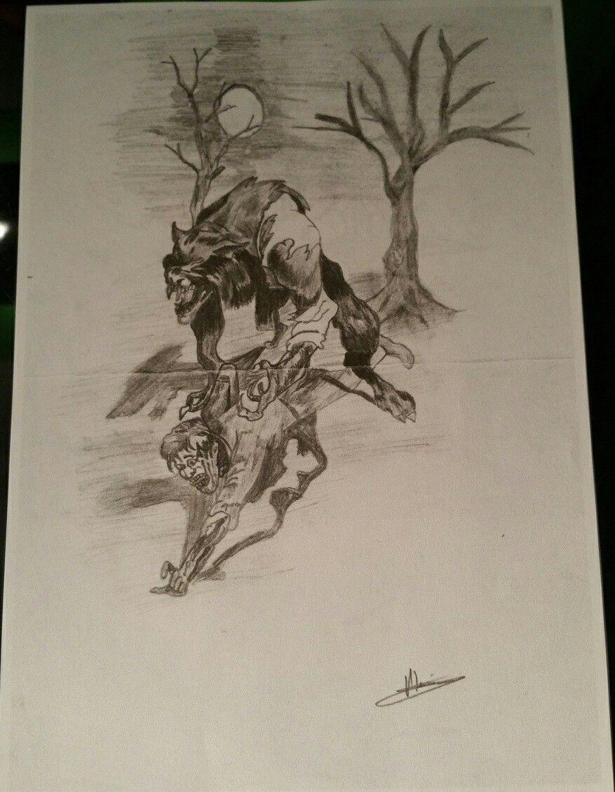 Werwolf jagt