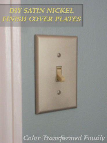Diy Satin Nickel Cover Plates