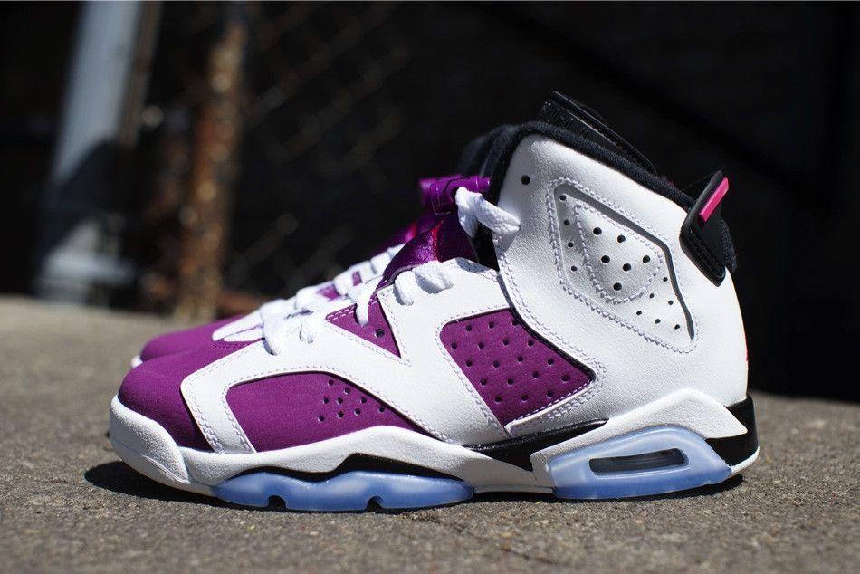 Air Jordan 6 Retro Grape #style #fashion #nike #shopping #sneakers #